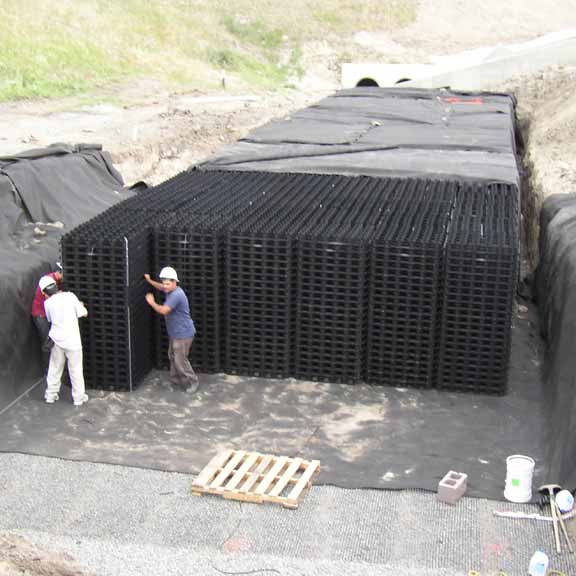 Underground Stormwater Detention System Invisible Structures