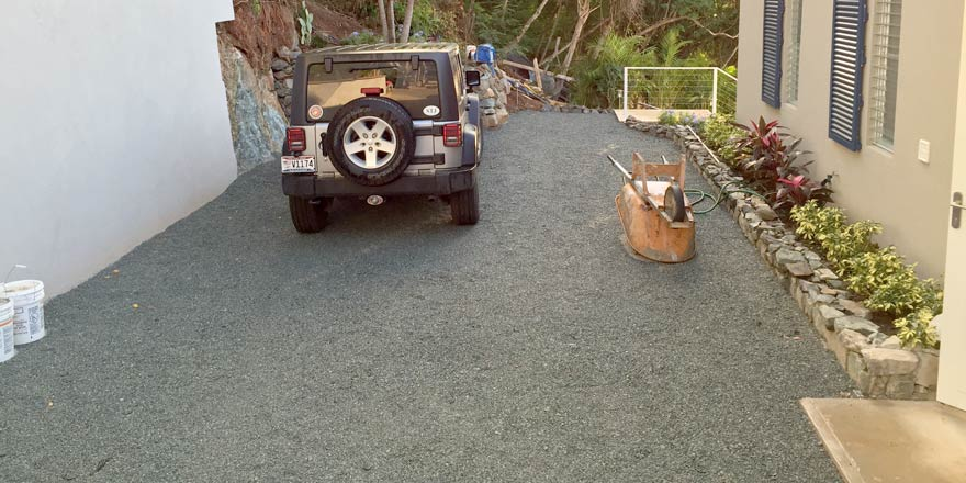 Project Name Seas The Day Products Gravelpave2 Lications Porous Gravel Paver Driveway City Saint John State Province Usvi Install
